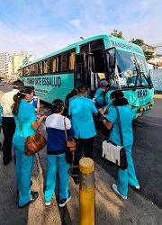 Busbedrijf steunt gezondheidswerkers