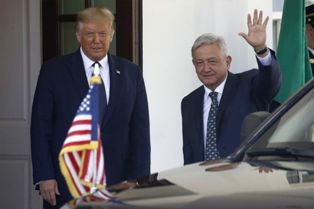 Trump en Lopez Obrador onderstrepen de uitstekende relatie tussen hun landen