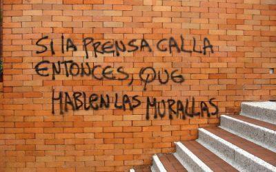 In Latijns Amerika spreken de muren