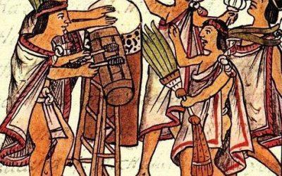 Precolumbiaanse muziekinstrumenten uit Latijns Amerika