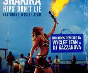 Shakira's heupen liegen niet
