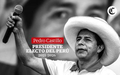 """Nieuwe president van Peru: """"Geen armen meer in een rijk land"""""""